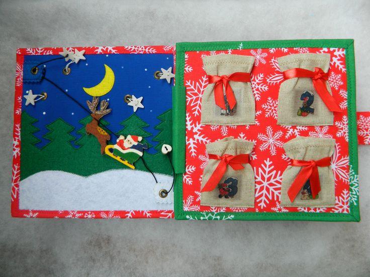 Advent calendar / Quiet book / Busy book / Cristmas gift
