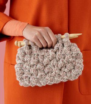 Knitting Purse