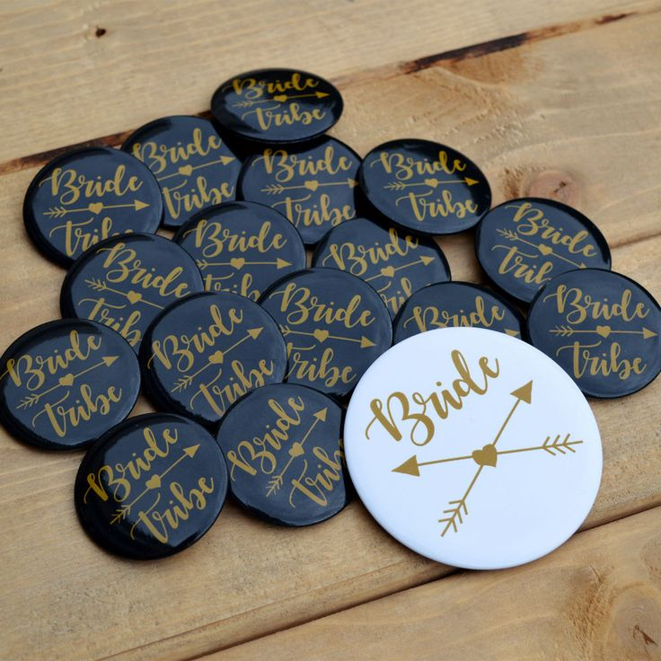 BRIDE TRIBE HEN PARTY BADGES Hen Night Accessories Party