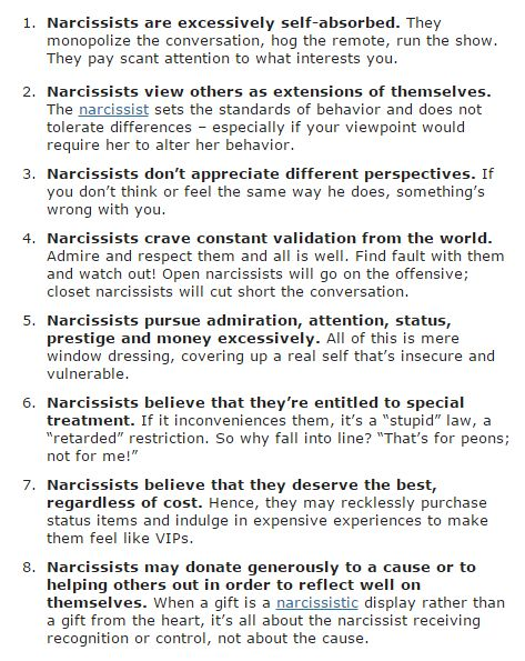 Once You Leave A Narcissist He Will