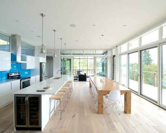 ... Dining Room, House Design, Modern Kitchen Design, Kitchens Dining