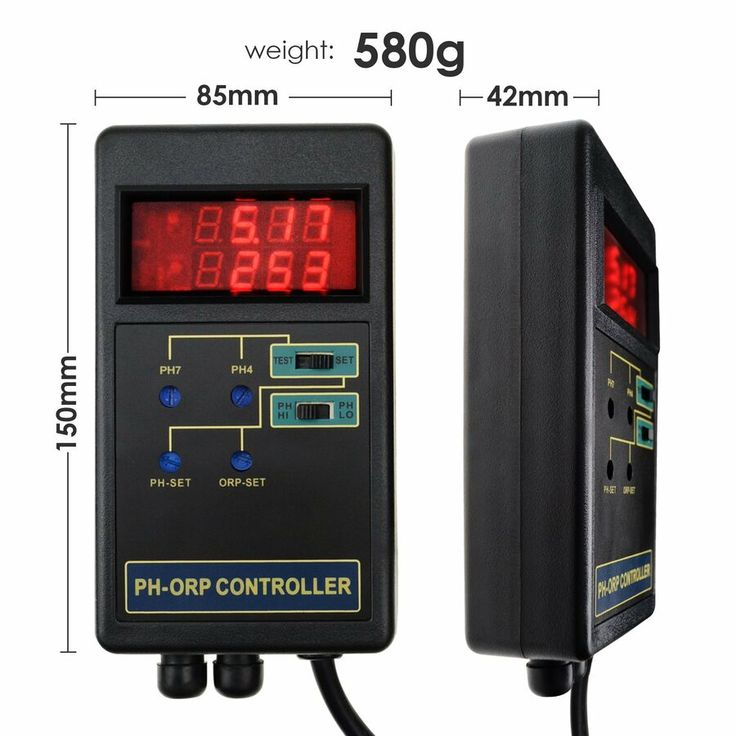 2in1 Digital pH / ORP Redox Controller Repleaceable