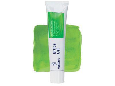 Urtica Gel Weleda: lenisce e rinfresca la pelle in caso di punture di insetto, meduse e cause urticanti in genere.