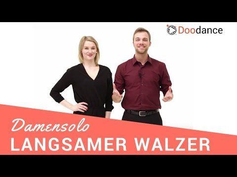 Hochzeitstanz: Langsamer Walzer | Das Damensolo - YouTube