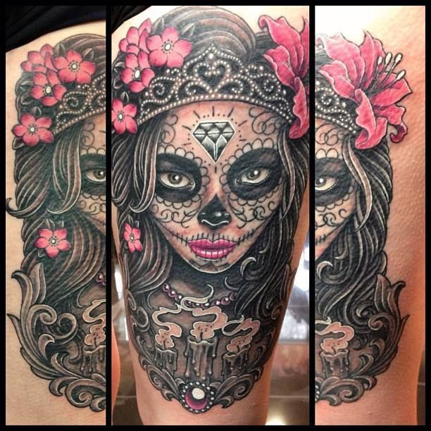 25 best ideas about lace skull tattoo on pinterest for Pretty skull tattoos