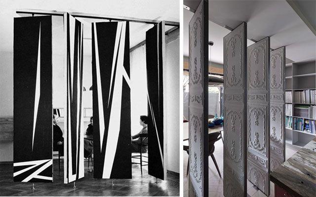 17 best ideas about separadores de espacios on pinterest for Mamparas para dividir ambientes