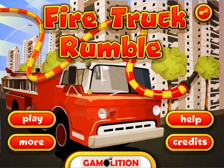 play fire truck action game online now for free mini flash game for boys girls