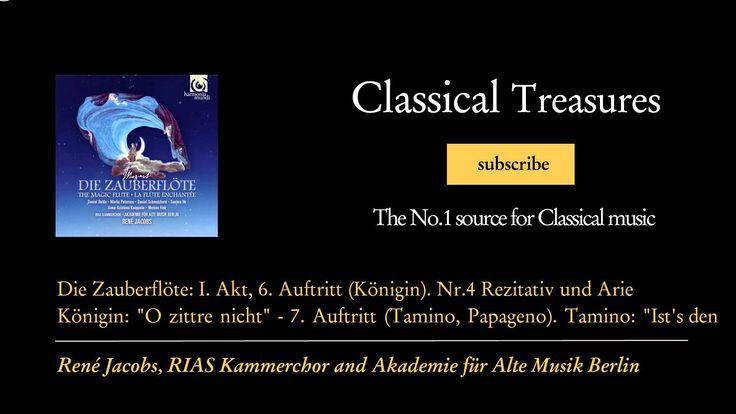Wolfgang Amadeus Mozart - Die Zauberflöte: I. Akt, 6. Auftritt (Königin)...