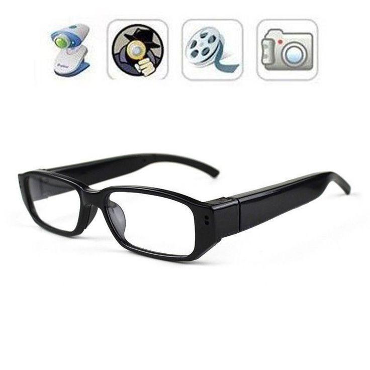 HD 720P Spy Camera Glasses Hidden Eyewear DVR Video Recorder Cam Camcorder DV #UnbrandedGeneric