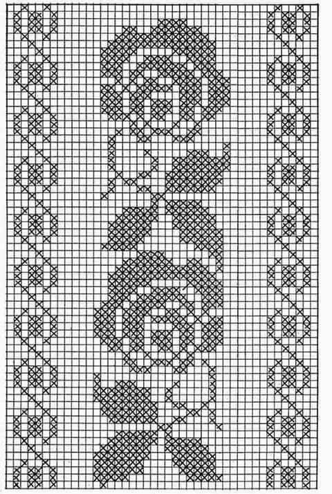 Mejores 104 imágenes de Filet crochet en Pinterest | Punto de ...