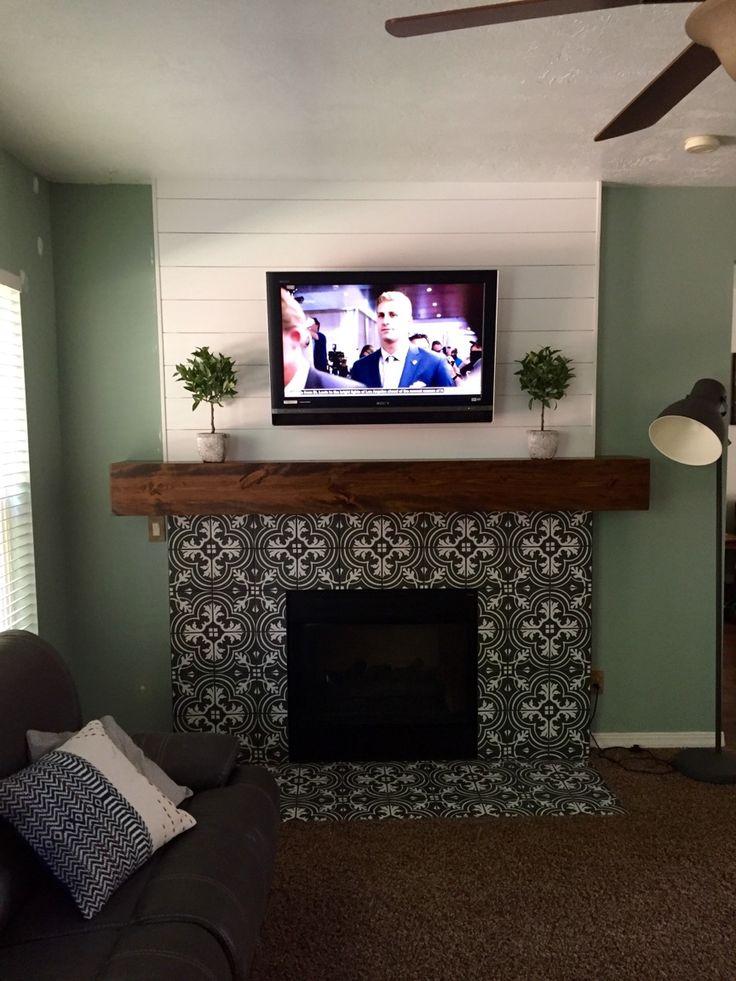 1000 Ideas About Modern Fireplace Mantles On Pinterest