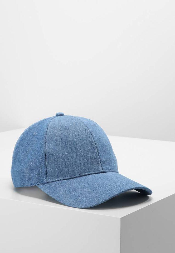 ONLY. ONLSHAWN - Cap - blue denim. Material Oberstoff:100% Baumwolle. Pflegehinweise:nicht Trockner geeignet,nicht waschen,nicht bügeln. Materialkonstruktion:Denim