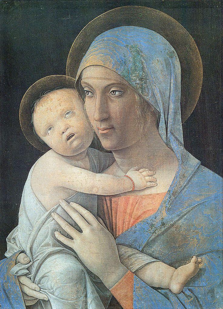 67. 1490-1500 circa - Madonna col Bambino - Bergamo, Accademia Carrara