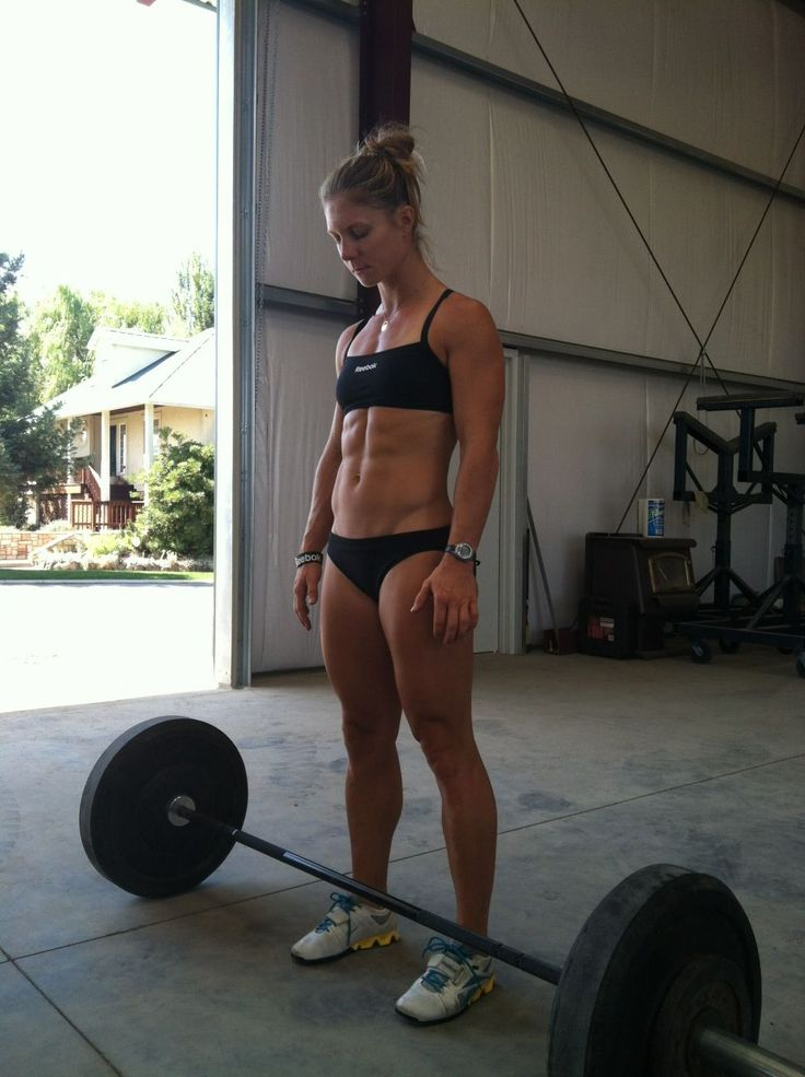 That's what I want to look like - CrossFit Chicks