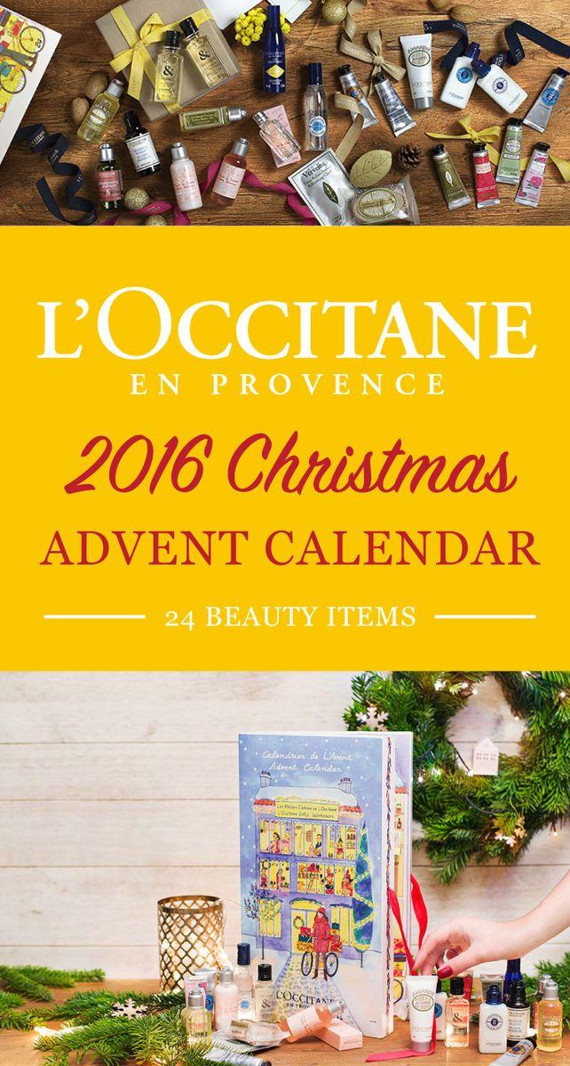 Advent Calendar 2016 Beauty : The l occitane christmas beauty advent calendar has