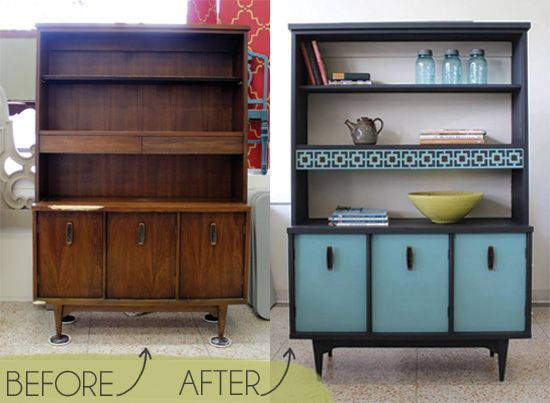 Creative Finishes Uses Chalk Paint on Furniture and Floorcloth Stencil Project | Royal Design Studio
