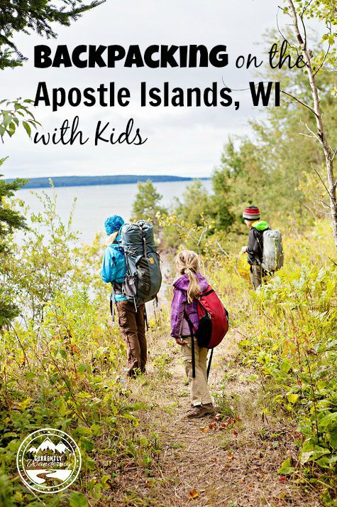 Backpacking on the Apostle Islands in Wisconsin with Kids
