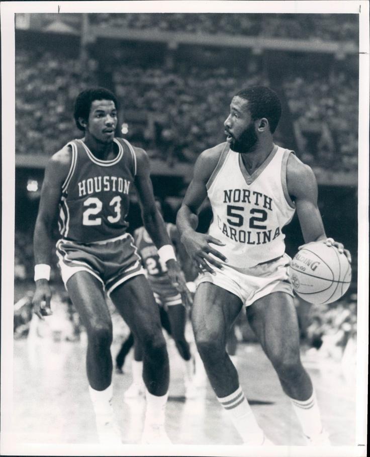 James Worthy and Clyde Drexler 1982 Ncaa, Basquetball, Nba
