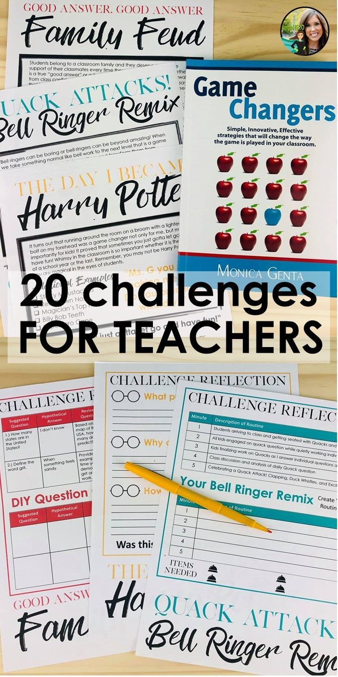 36380 best grades 6 8 ideas resources images on pinterest teacher professional development workbook with 20 challenges to spark whimsy in the classroom you can fandeluxe Choice Image