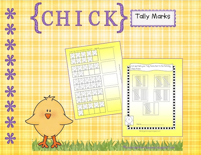 Chick Tally Marks (free)Tally Marks, Easter Math, Easter Preschool, Chicks Tally, Easter Spr, Teaching Ideas, Kindergarten Crayons, Education Math, Spring East