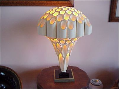 Rougier lamps from the 70s.  Designer unknown.  Production methods unknown.