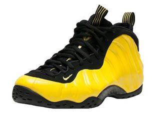 THE SNEAKER ADDICT: Nike Air Foamposite Yellow/Black Sneaker (Images) �  Sneaker BarFoamposite Release DatesSneakers ...