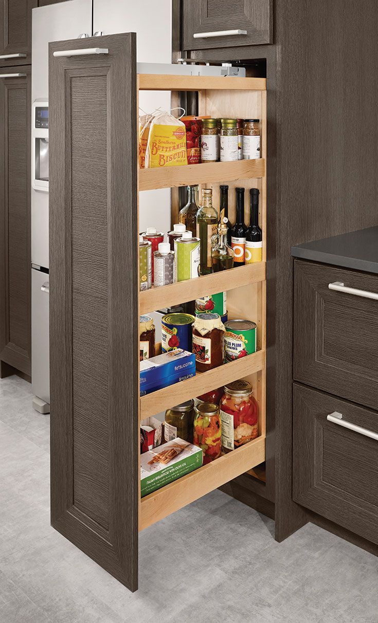 Best Tall Pantry Pull Out 15 Kraftmaid Kitchens Classy 400 x 300