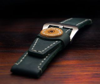 Topouzelli Straps : Leather watch strap. Handmade. T 877