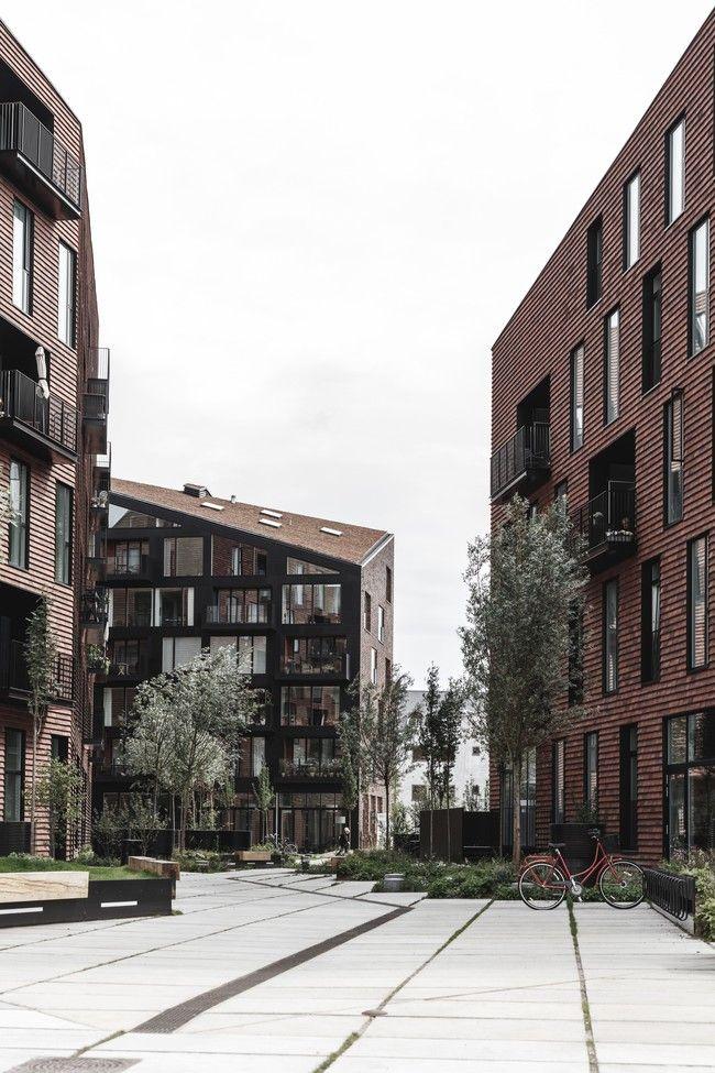 "A ""hyper-democratic"" housing complex in Copenhagen combines community input with contextual design | News | Archinect"