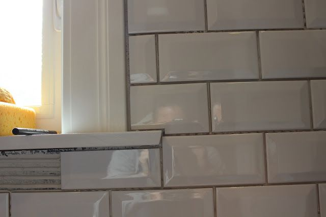 Kitchen Window Sill Tiles