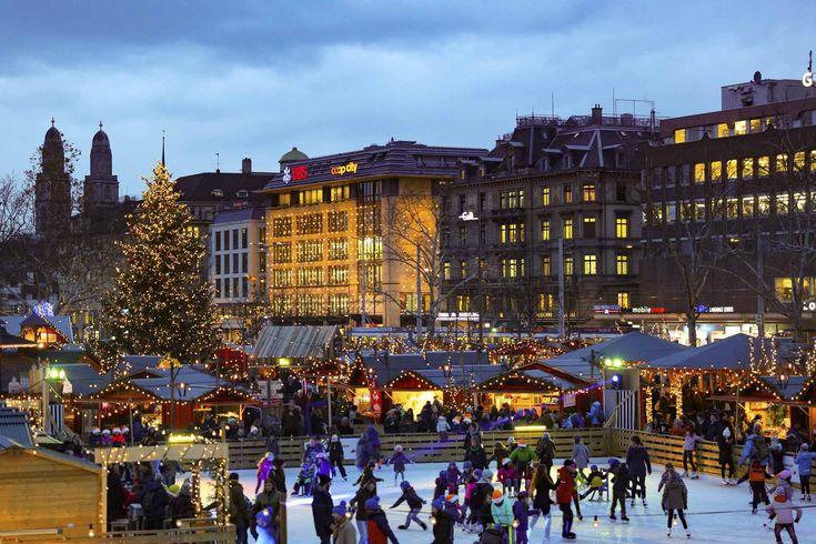 Mercadillos de Zúrich, Suiza - Los mejores mercadillos navideños de Europa