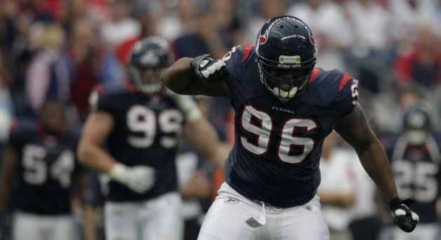 Tim Jamison - Currently a Defensive End for the Houston Texans