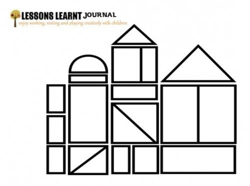 coloring pages building block - photo#23