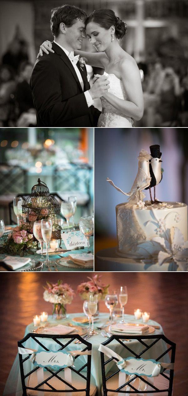 love bird themed wedding