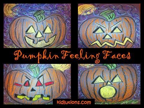 #Pumpkin #Feeling Faces: classroom, home, play therapy and MORE!