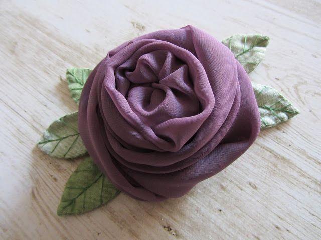 Il country e il mare: rose inglesi tutorial