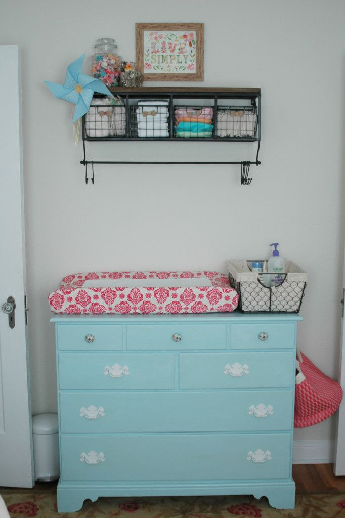 Over the changing table organization