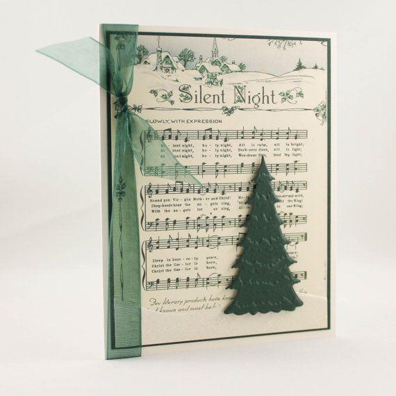Handmade christmas card unique christmas card for Elegant christmas card ideas