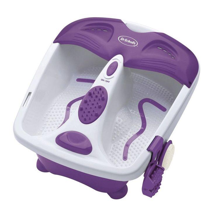 Tabitha Heated Foot Spa Bath Massaging Massage Massager Feet Dr Scholls Soak Soaker New #DrScholls