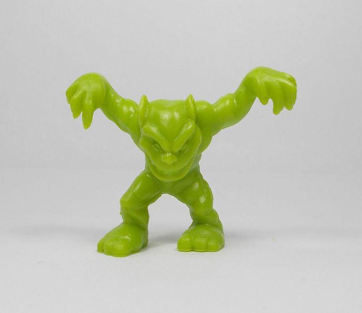 Monster In My Pocket - Series 1 - 35 Gremlin - Olive Green - Mini Figure