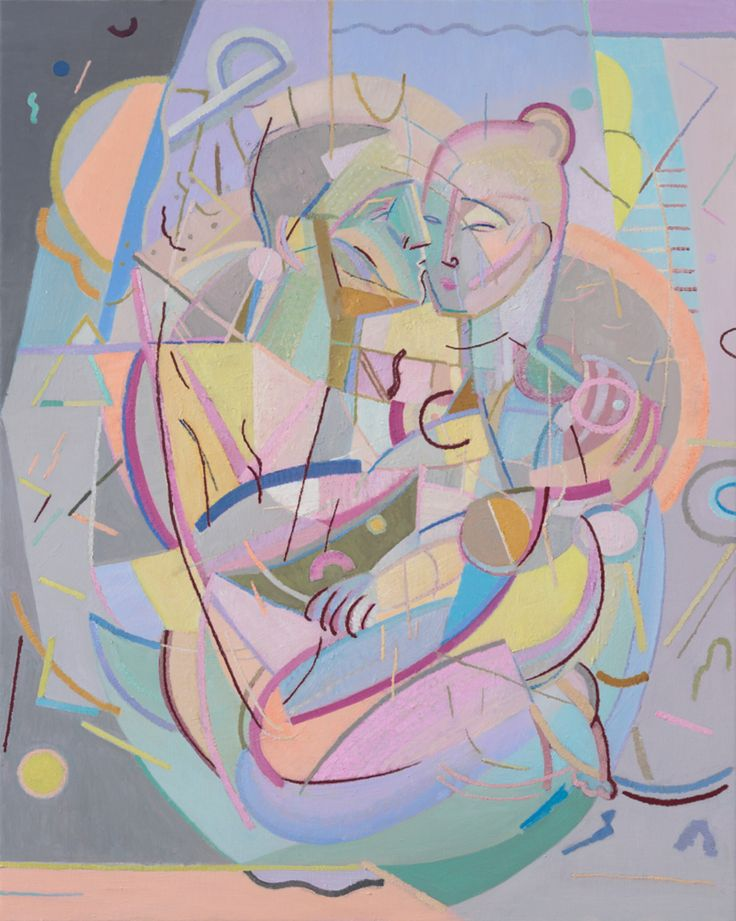 Yvette Coppersmith,Seated Embrace, 2015