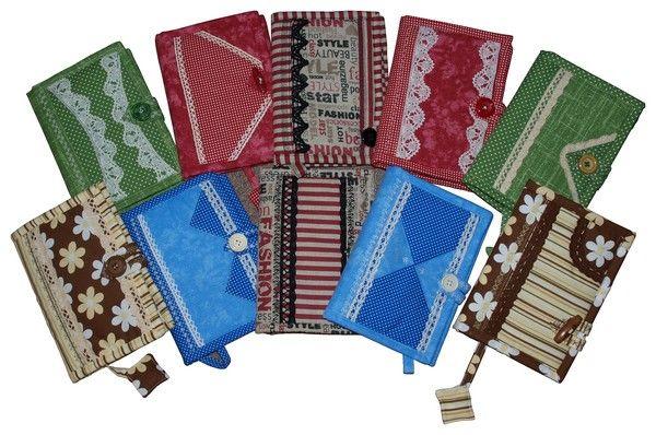 obaly na zápisníky alebo denníčky