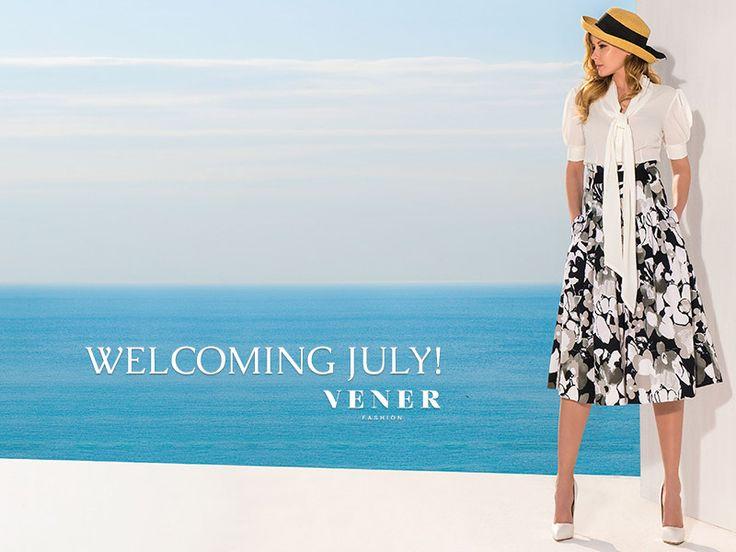 Καλό Μήνα, με καθαρό ορίζοντα και θετικές σκέψεις! #fashion #july1st #ss15 #ss2015 #greek #design #woman #skirts #vener #quality #trends #summer #collection