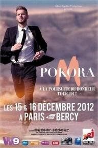Matt Pokora  Concert / Fin 2012 Décembre. BERCY PARIS.