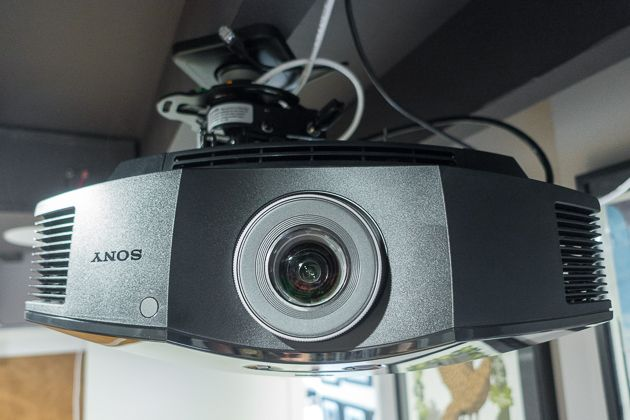 In a light-controlled room, the Sony VPL-HW45ES offers a noticeable improvement in image quality over budget projectors, with fewer compromises. Looking at the Sony's image next to that of our affordable projector pick (the BenQ HT2050 as of this writing) makes the BenQ's blacks look dark gray by comparison.