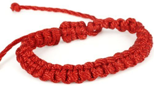 Luos Handmade Red String Bracelet -St020 Luos Cultural Goods. $3.96. it is said to bring good luck. handmade string bracelet. one size fits all ; adjustable string tied