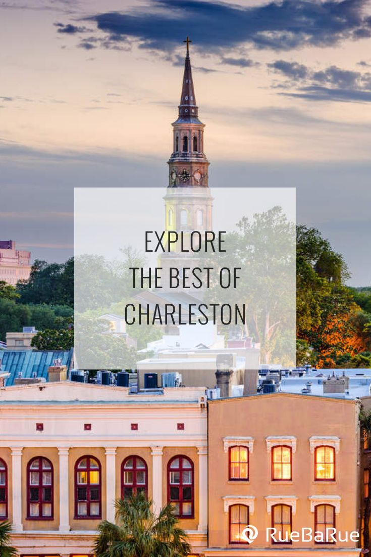 Explore top things to do in Charleston, South Carolina.