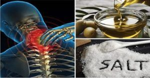 Provate a mescolare insieme sale ed olio di oliva   Volete risolvere i problemi di cervicale? Provate questo straordinario rimedio. - Chi soffre di cervicale, è solito ?