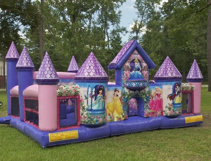 Rent A Stunning Disney Princess Bouncy Castle Find This Pin And More On Children Party Ideas