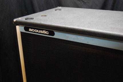 """Acoustic 402 2x15"""" Vintage Bass Box / Cabinet 200W 4Ohm in Essen - Essen-Kettwig   Musikinstrumente und Zubehör gebraucht kaufen   eBay Kleinanzeigen"""